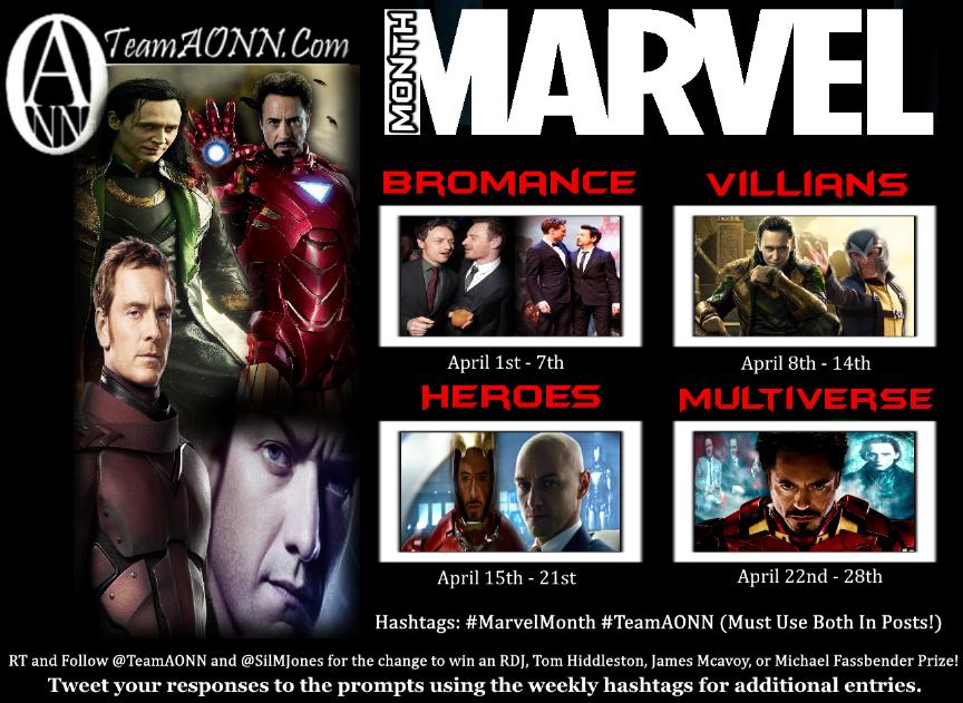 marvel month board