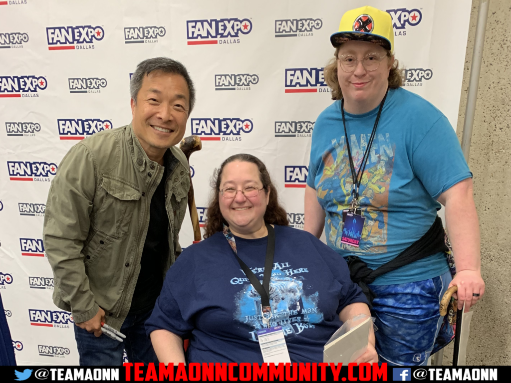 Sil and Odogoo With Jim Lee